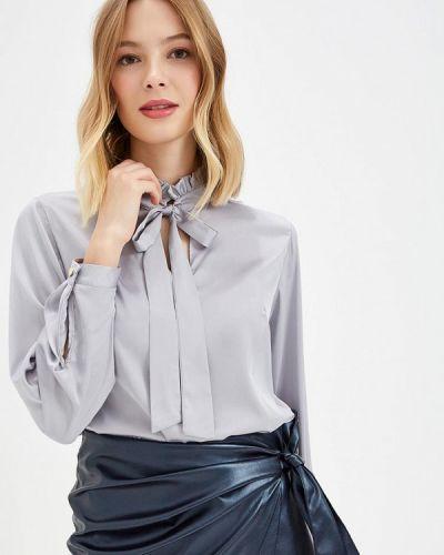 Серая блузка с длинным рукавом Sartori Dodici