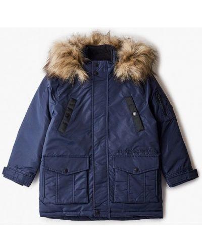 Утепленная синяя куртка Pepe Jeans