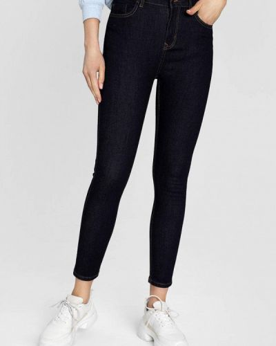 Зауженные джинсы - синие O'stin