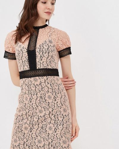 Розовое платье Little Mistress