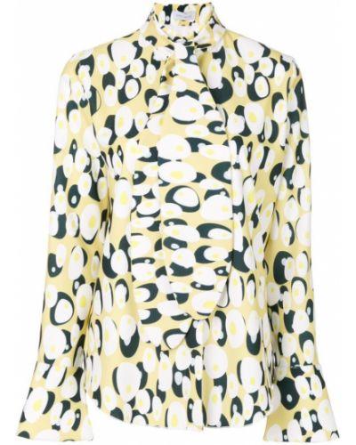 Блузка с длинным рукавом с рисунком Ioana Ciolacu