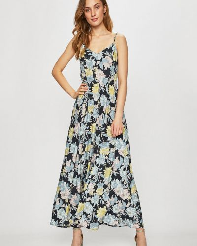 Платье с V-образным вырезом - серое Review