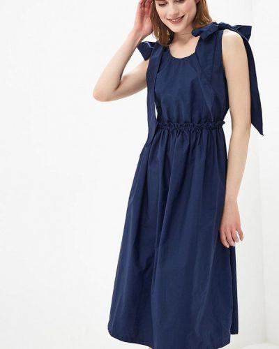 Синее платье весеннее Rinascimento
