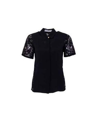 Черная блузка повседневная Frankie Morello