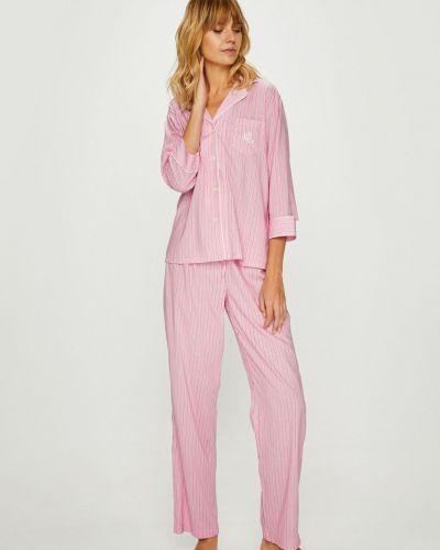 Пижама с карманами на пуговицах Lauren Ralph Lauren