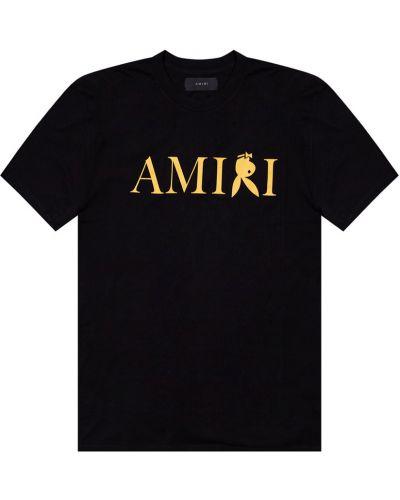 Czarna t-shirt Amiri