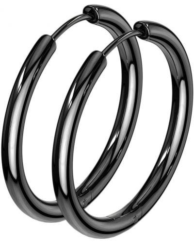 Серьги-кольца Spikes