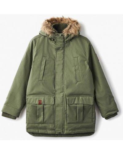 Куртка теплая зеленый Quiksilver
