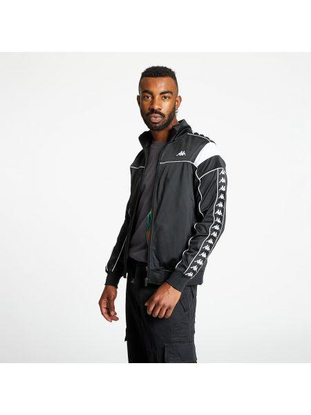 Черная куртка Kappa