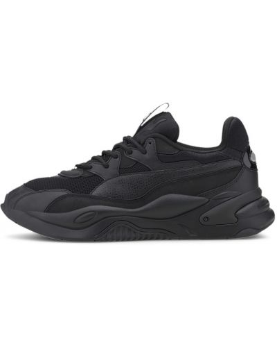 Повседневные текстильные черные кроссовки для бега Puma
