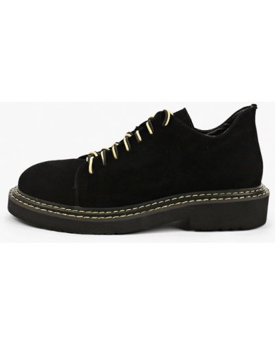 Черные демисезонные туфли Dino Ricci Trend