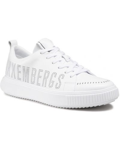 Białe półbuty Bikkembergs