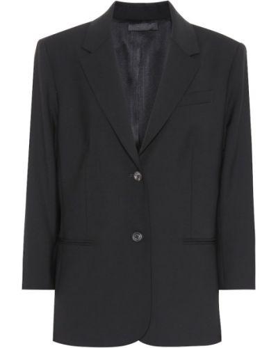 Черный пиджак The Row