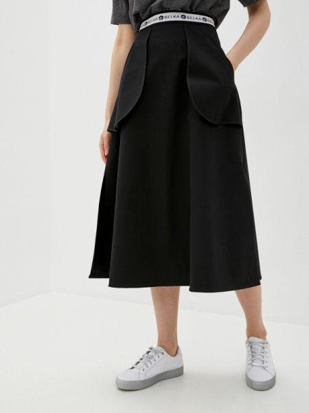 Черная юбка Белка