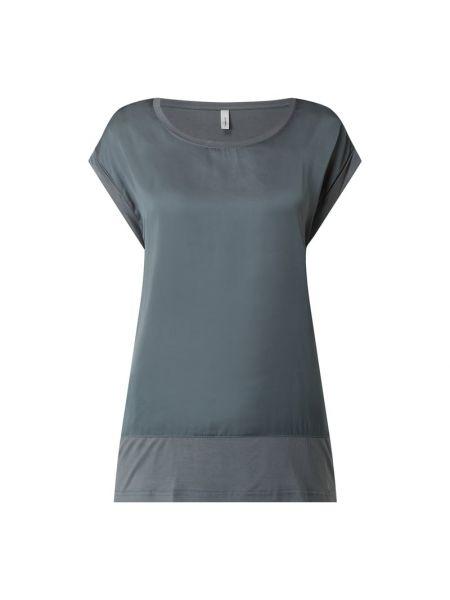Bluzka krótki rękaw z wiskozy turkusowa Soyaconcept