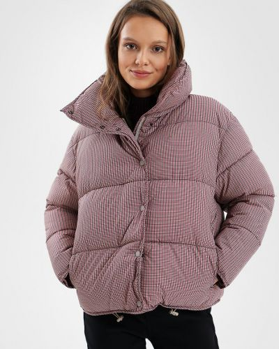 Куртка короткая - фиолетовая O'stin