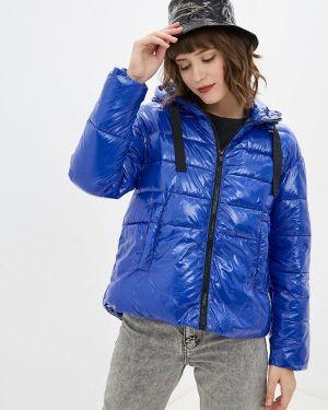 Утепленная куртка - синяя Nice & Chic