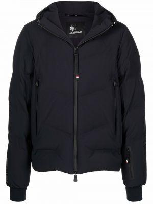Czarna klasyczna kurtka Moncler Grenoble