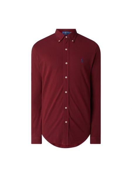 Bawełna puchaty koszula z mankietami z długimi rękawami Polo Ralph Lauren