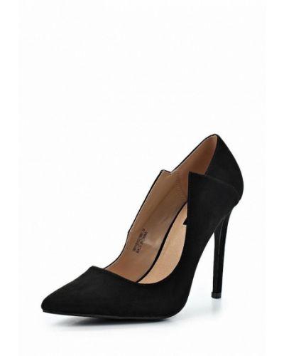 Черные туфли для офиса Lost Ink.