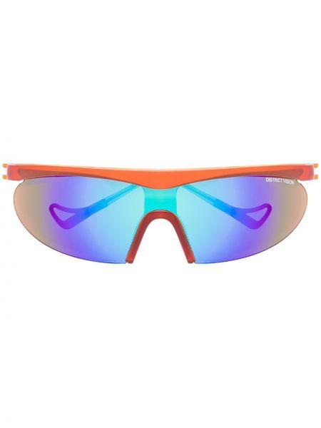 Акриловые солнцезащитные очки с завязками хаки District Vision