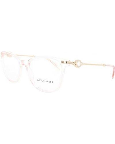 Różowe okulary Bvlgari