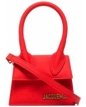 Кожаная сумка маленькая сумка-тоут Jacquemus