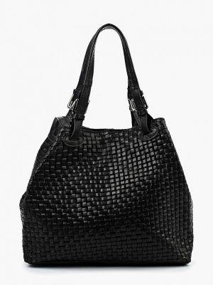 Кожаная сумка - черная Roberta Rossi