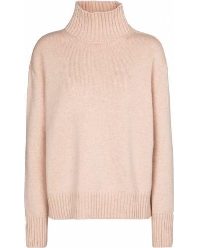 Розовый кашемировый свитер Loro Piana