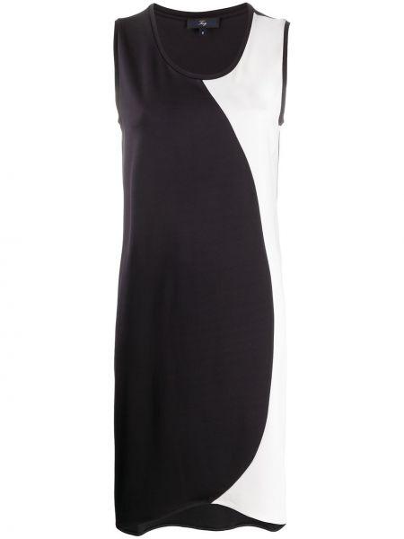 Платье черное с рукавами Fay