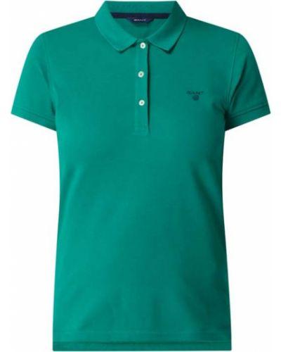 T-shirt bawełniana - zielona Gant