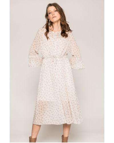 Платье макси на пуговицах свободного кроя Answear