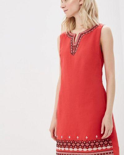 Платье весеннее красный Sweet Miss