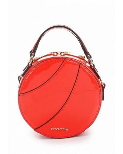 Кожаный сумка лаковая Cromia