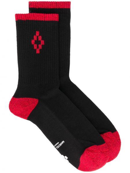 Хлопковые черные носки Marcelo Burlon. County Of Milan