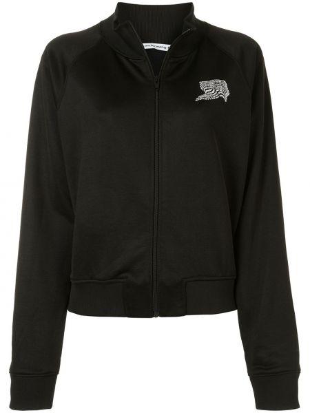 Длинная куртка - черная T By Alexander Wang