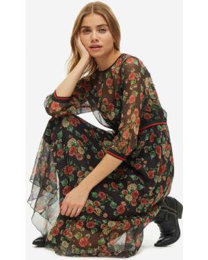 Платье с цветочным принтом Vera Moni