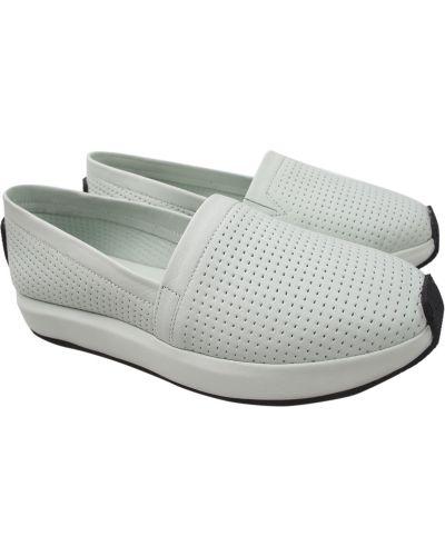 Кожаные туфли - мятные Molly Bessa