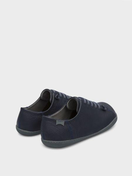 Кожаные полуботинки - синие Camper