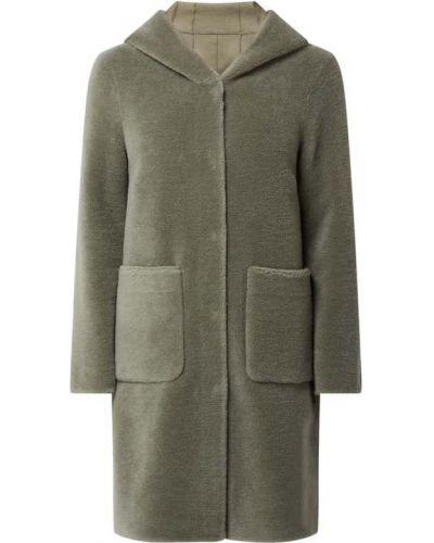 Zielony płaszcz z kapturem Oakwood
