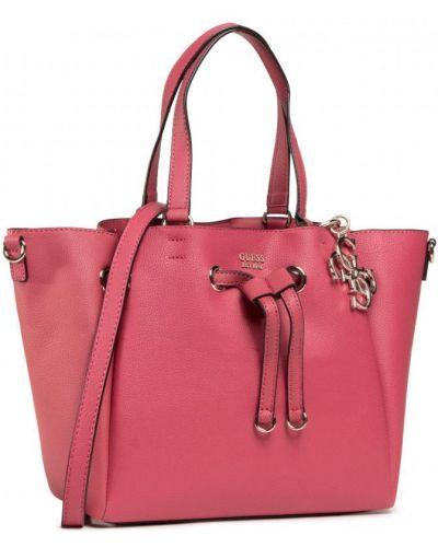 Красная сумка-тоут из искусственной кожи Guess