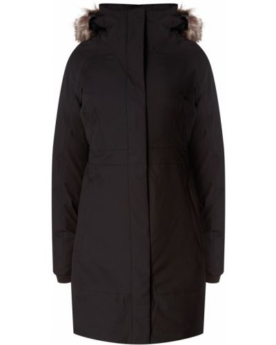 Утепленная куртка с капюшоном приталенная The North Face