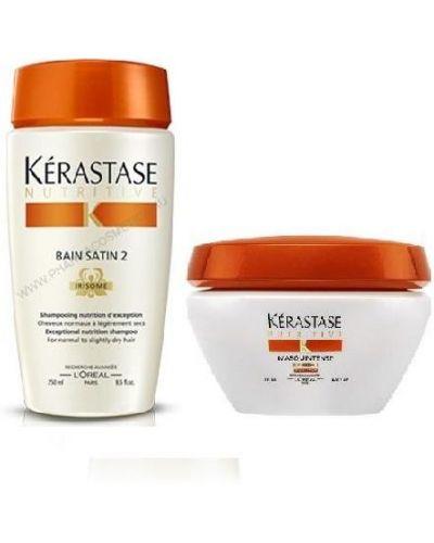 Маска для волос питательная шелковый Kerastase