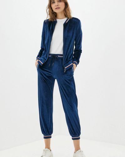 Костюмный синий спортивный костюм Galvanni