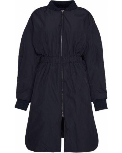 Кожаное пальто с воротником пальто Isabel Marant