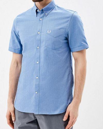 Синяя рубашка Fred Perry