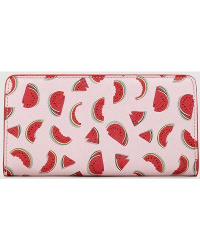 Розовый кошелек Mango