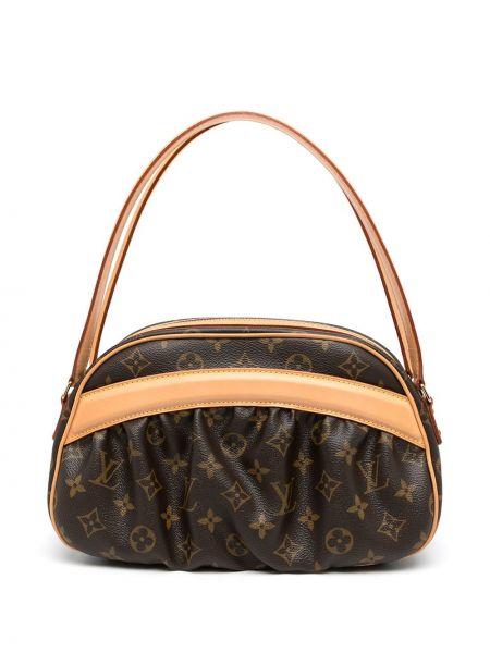 Brązowa złota torebka Louis Vuitton