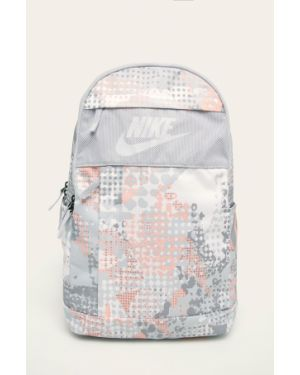 Szary sport plecak w paski Nike Sportswear