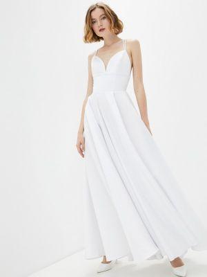 Белое свадебное платье Seam